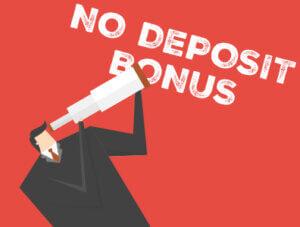 No deposit bonus image