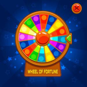 Wheel fortune spins